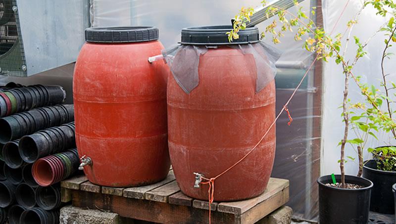 Rain Barrel Installation
