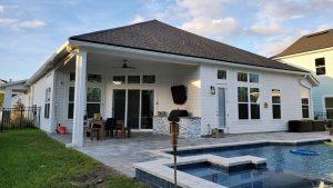 Seamless Gutter Installations Yulee, Florida and Nassau County Florida